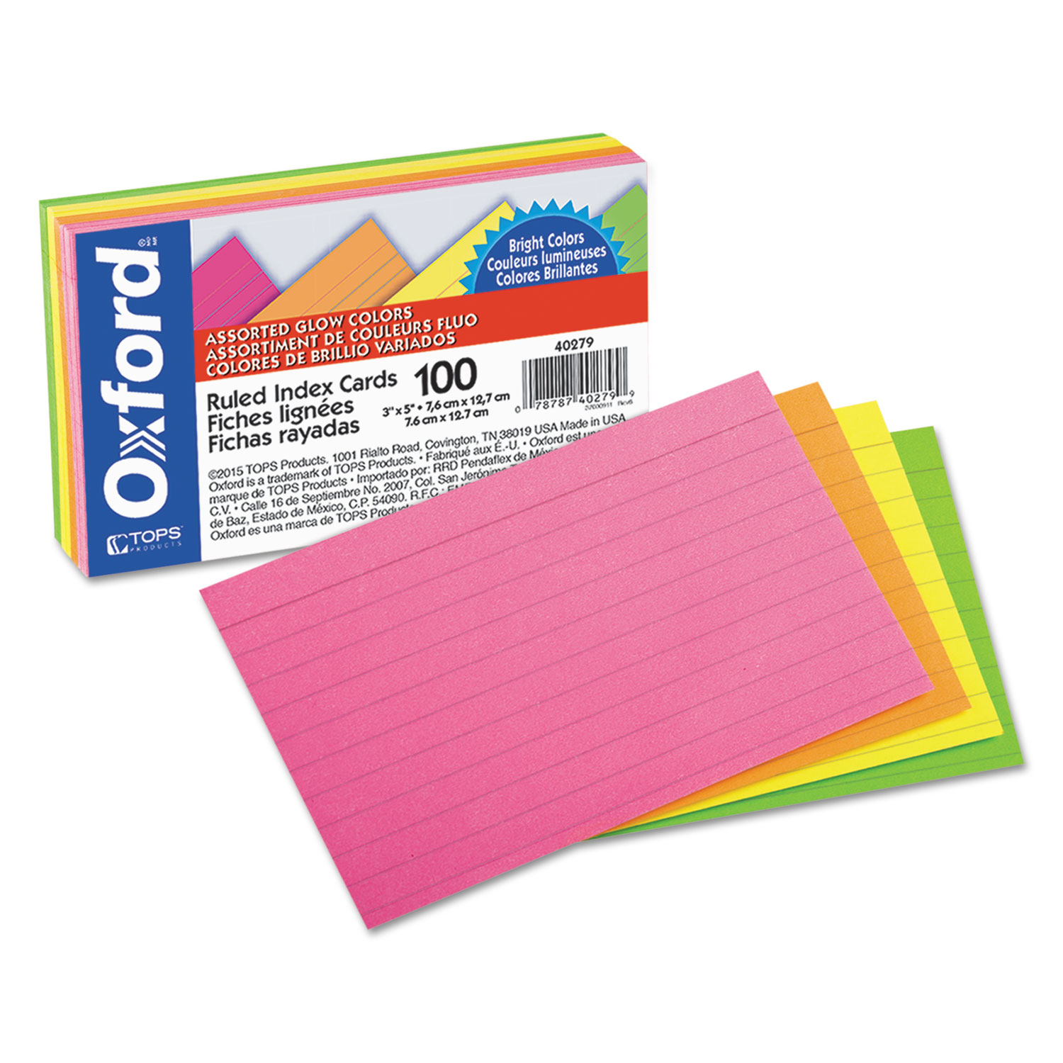 avery flash cards template - ruled index cards by oxford oxf40279