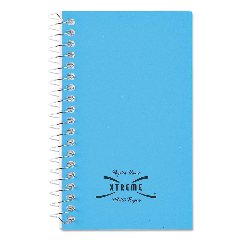 Wirebound Memo Books, Narrow Rule, 5 x 3, White, 60 Sheets
