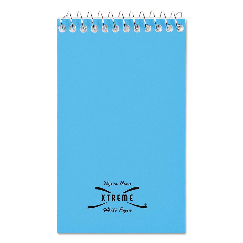 Wirebound Memo Books, Narrow Rule, 3 x 5, White, 60 Sheets