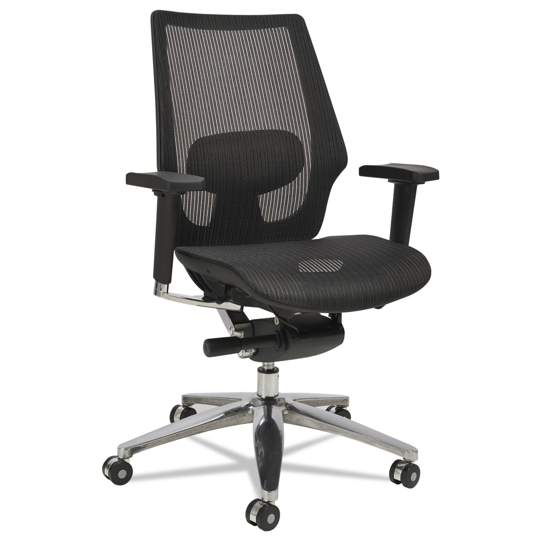 Alera K8 Series Ergonomic Multifunction Mesh Chair by Alera
