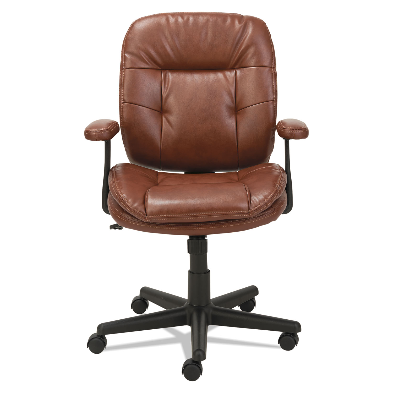 Swivel Tilt Leather Task Chair by OIF OIFST4859 TimeSupplies