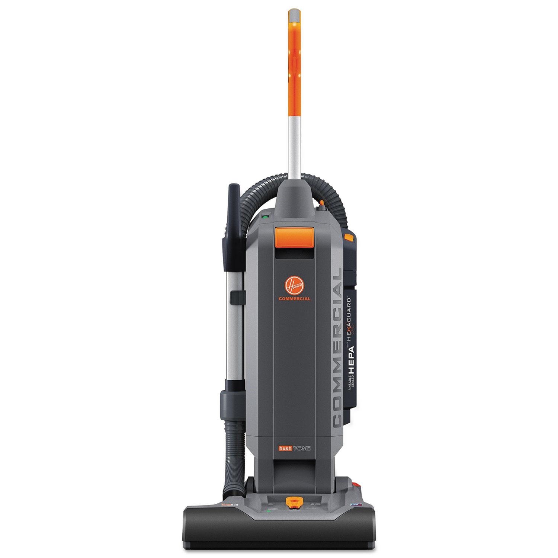 "HushTone Vacuum Cleaner with Intellibelt, 15"", Orange/Gray"