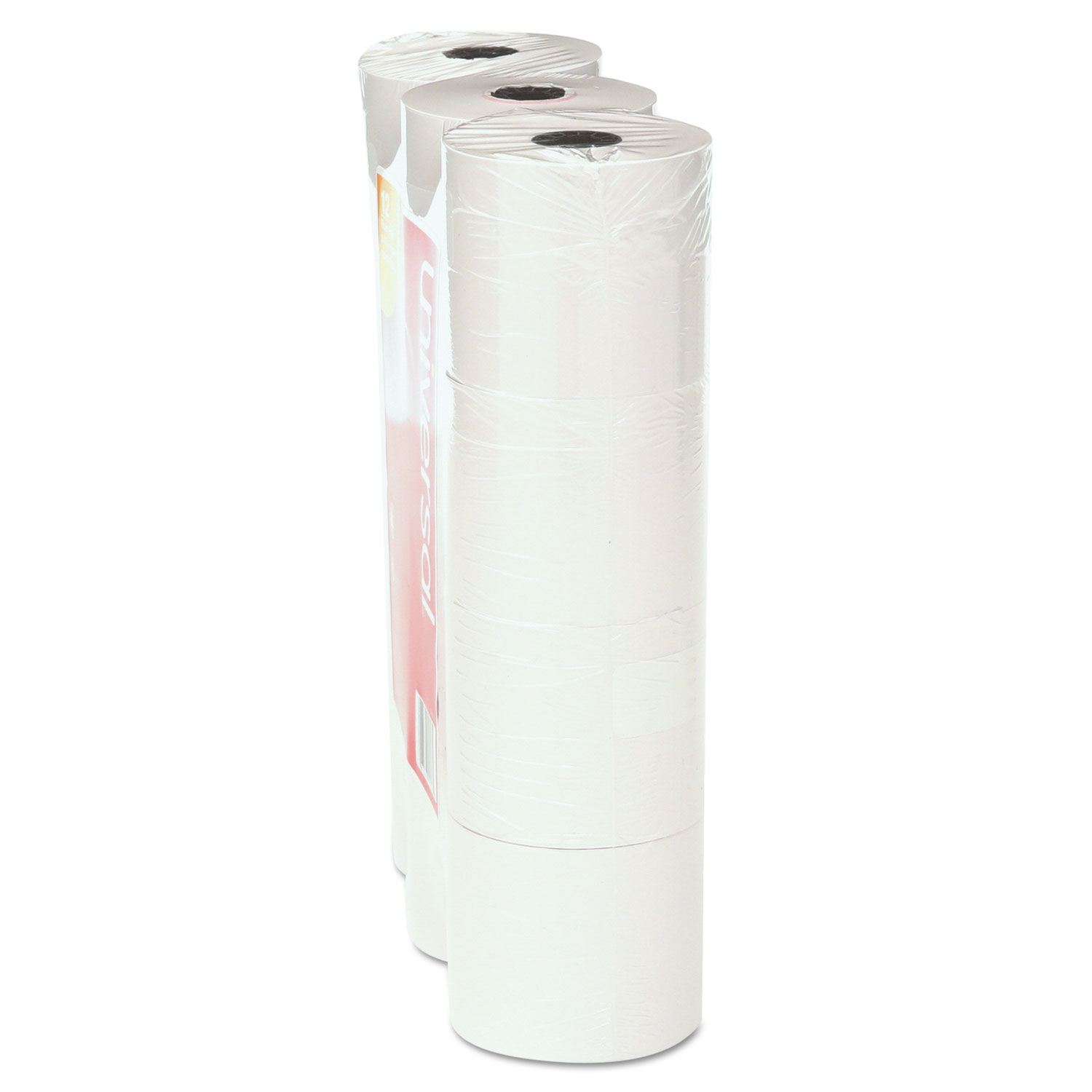 Adding Machine/Calculator Roll, 16 lb, 2-1/4 x 130 ft, White, 12/Pack