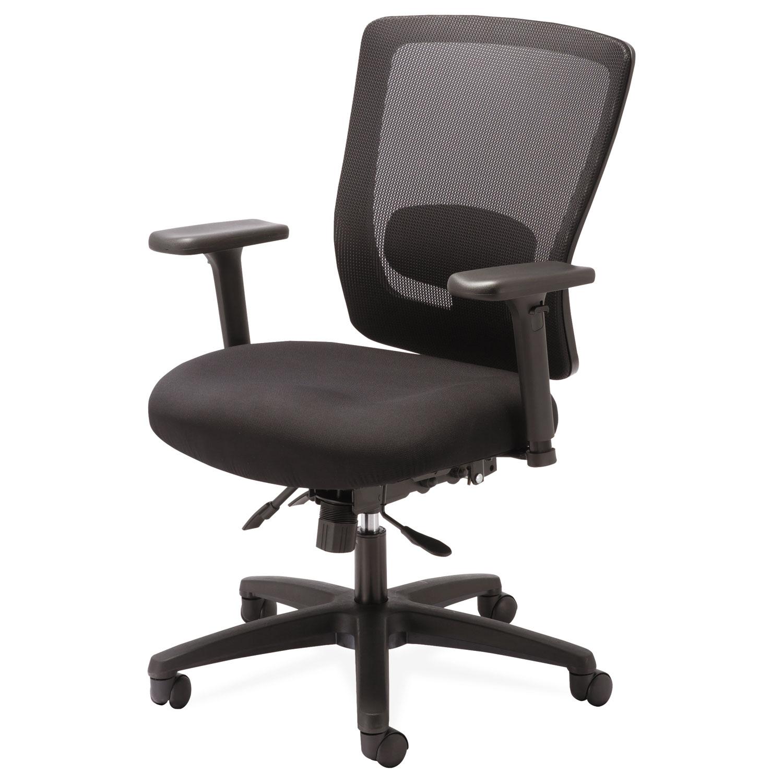 Alera Envy Series Mesh Mid Back Multifunction Chair by Alera