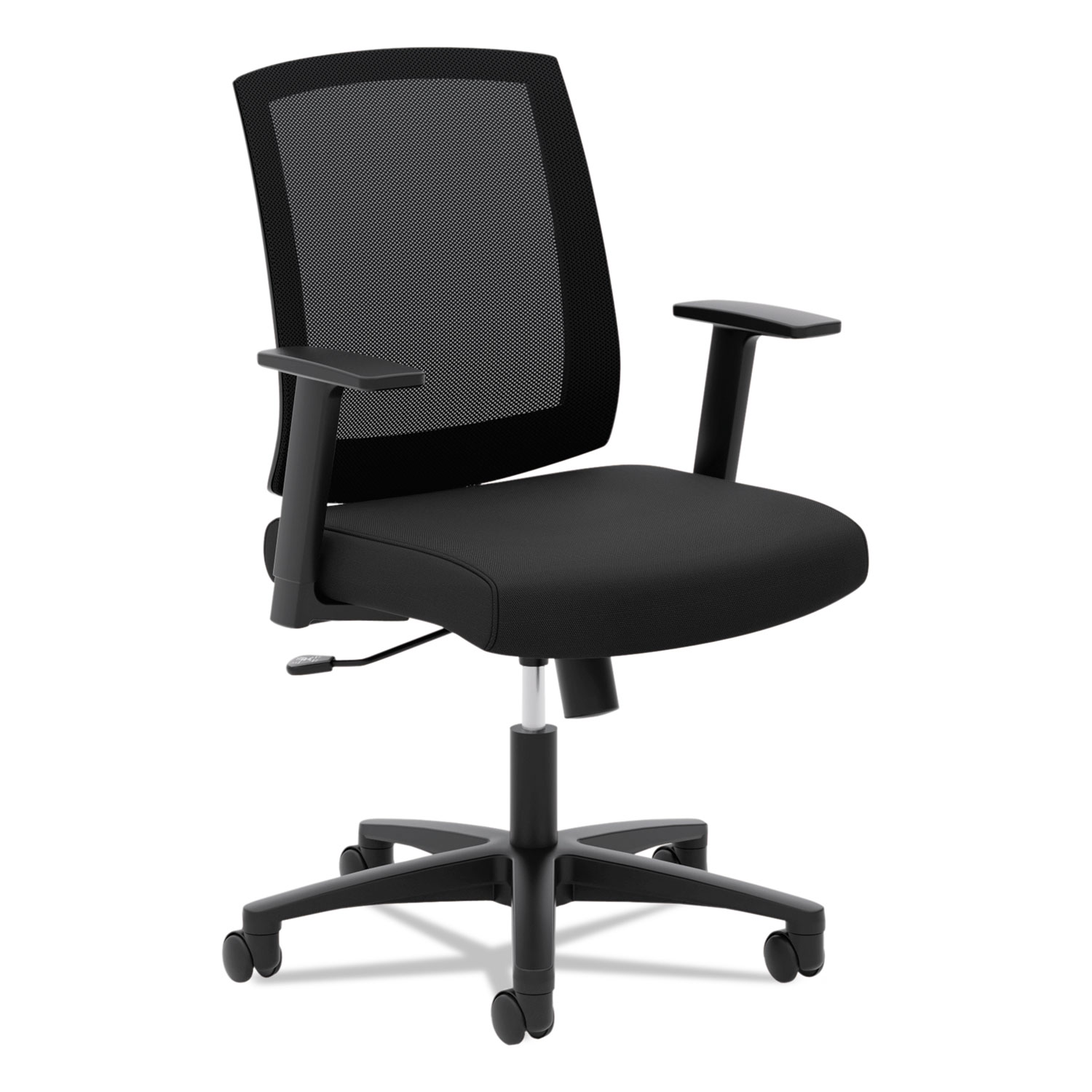 vl511 mesh mid back task chair with arms by hon bsxvl511lh10