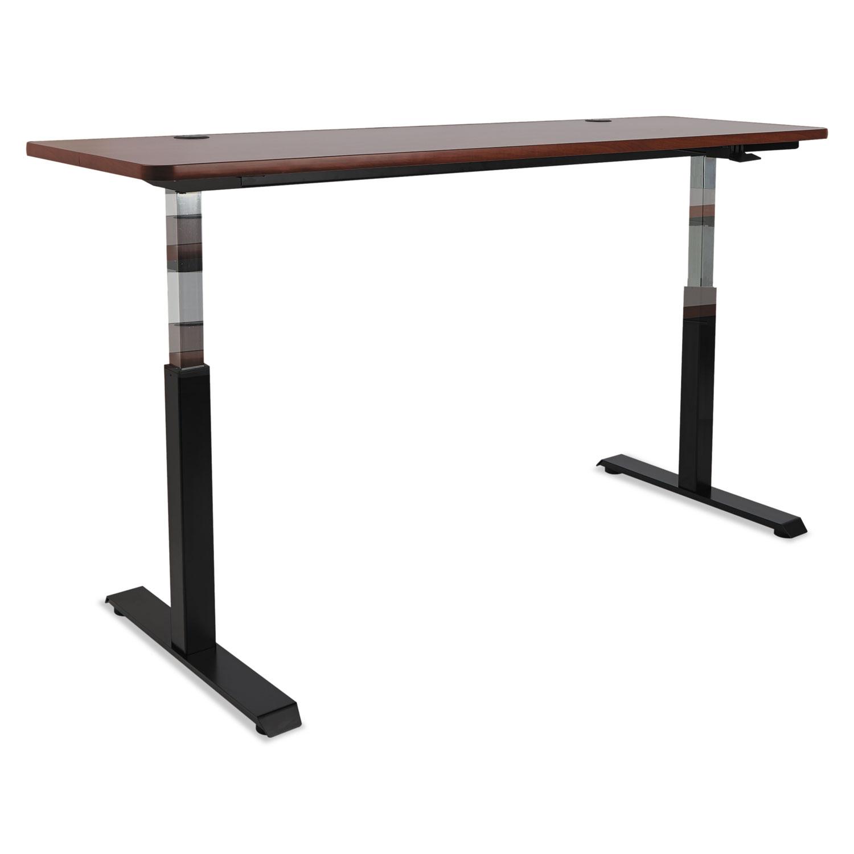 adaptivergo pneumatic height adjustable table base by alera alehtpn1b. Black Bedroom Furniture Sets. Home Design Ideas