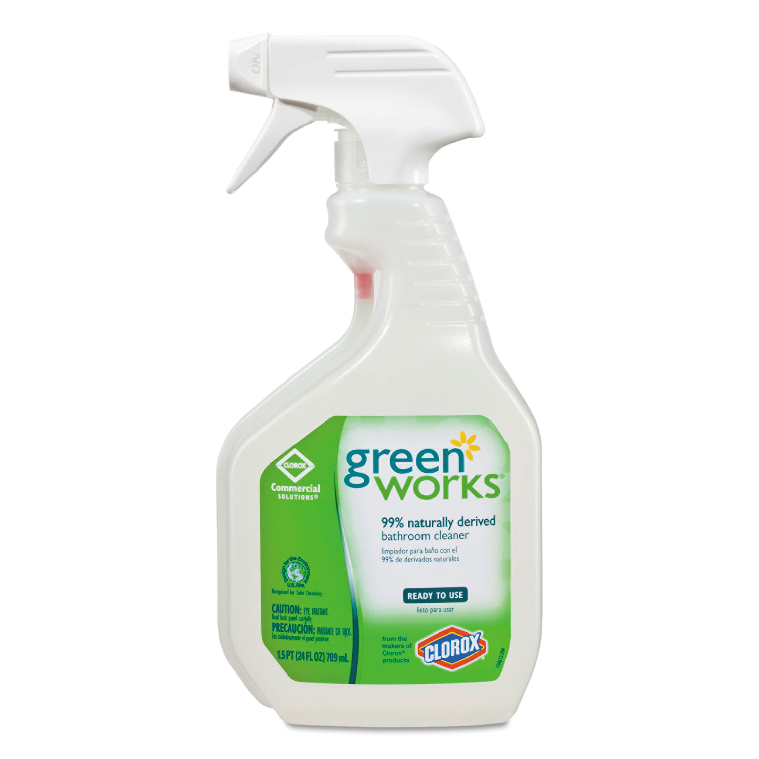 Bathroom Cleaner By Green Works Clo00452