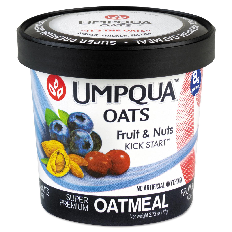Super Premium Oatmeal, Kick Start, 2.71 oz Cup, 12/Carton