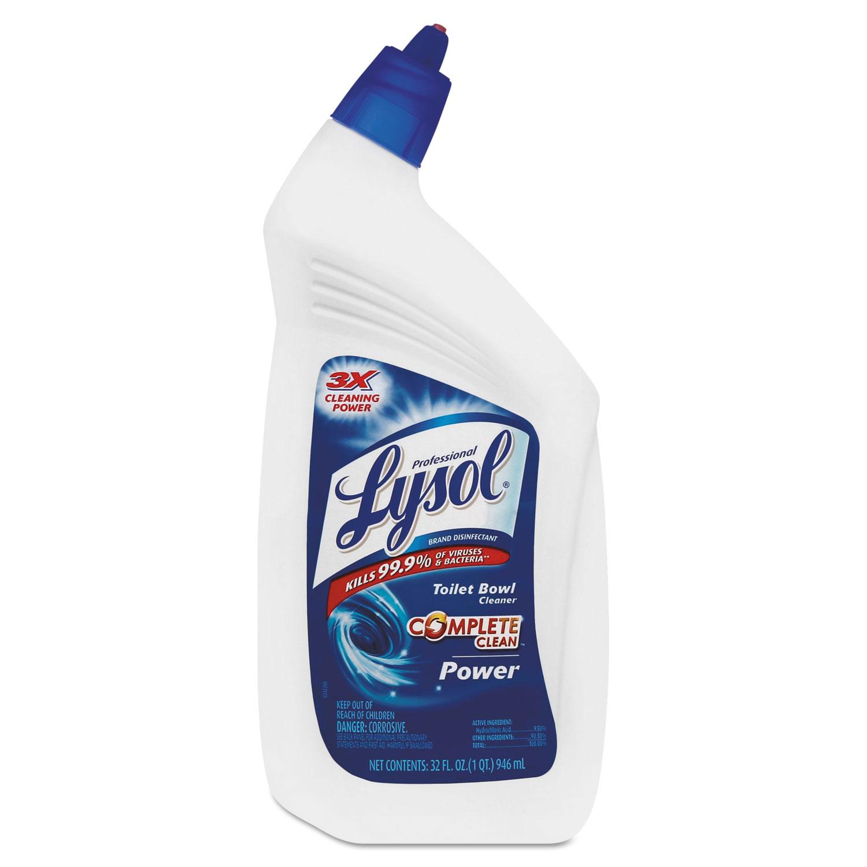 Lysol Action Gel Toilet Bowl Cleaner Msds