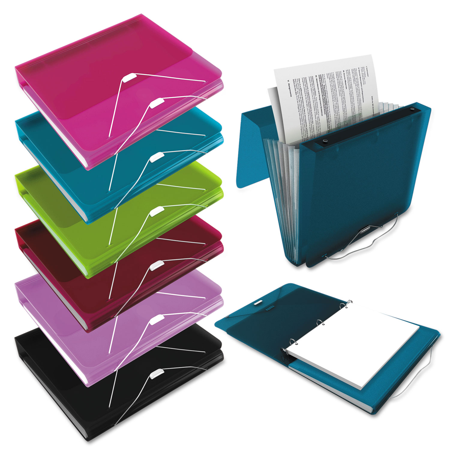 Look At DUO 2-in-1 Binder Organizer And Other 3 Ring