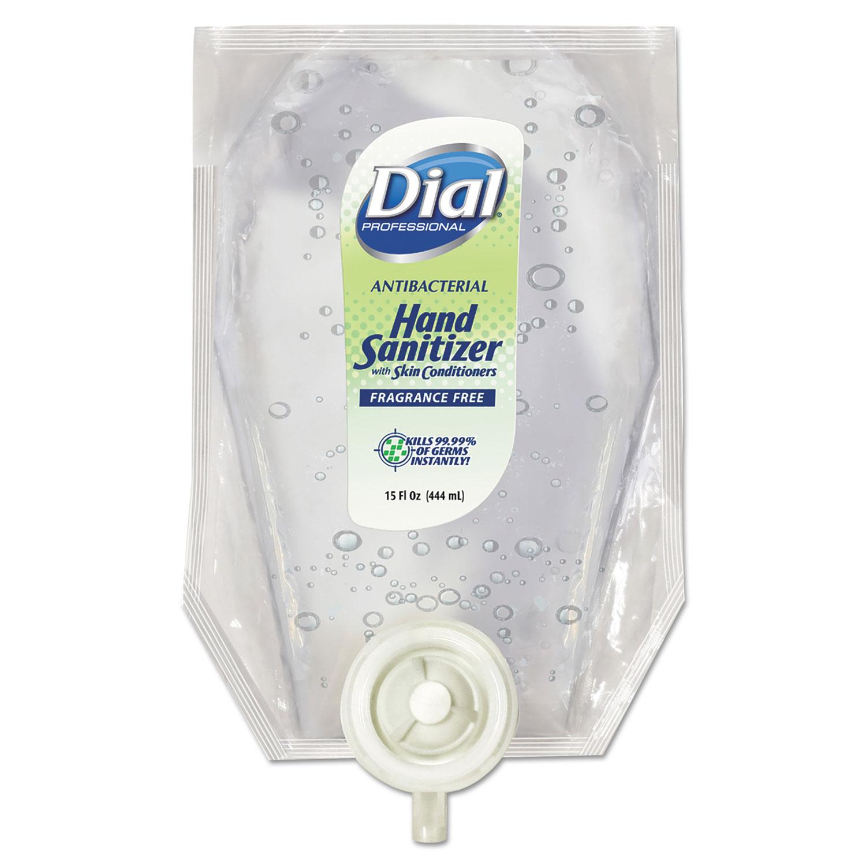 Eco-Smart Gel Hand Sanitizer Refill, Fragrance-Free, 15 oz Refill, 6/Carton