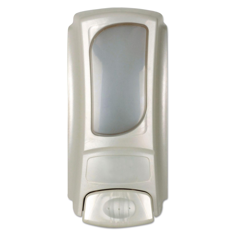 """Hand Care Anywhere Flex Bag Dispenser, 15 oz, 4"""" x 3.1"""" x 7.9"""", Pearl"""