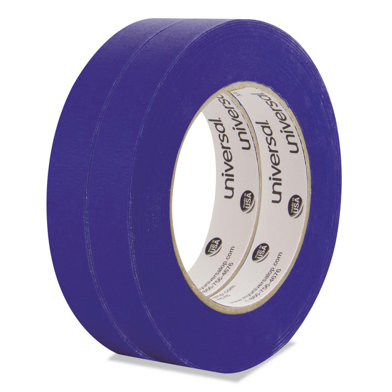 Premium Blue Masking Tape, 18mm X 54.8m, Blue, 2/Pack