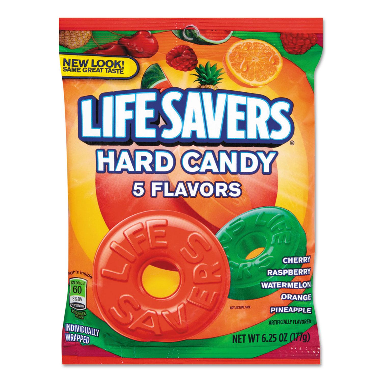 Hard Candy, Original Five Flavors, 6.25 oz Bag