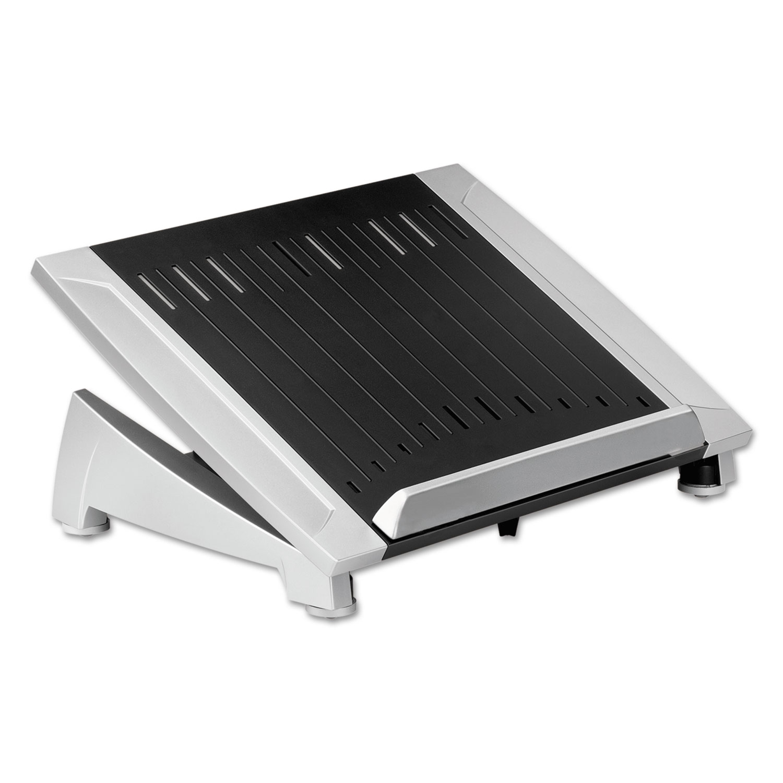 Office Suites Laptop Riser Plus, 15 1/16 x 10 1/2 x 6 1/2, Black/Silver