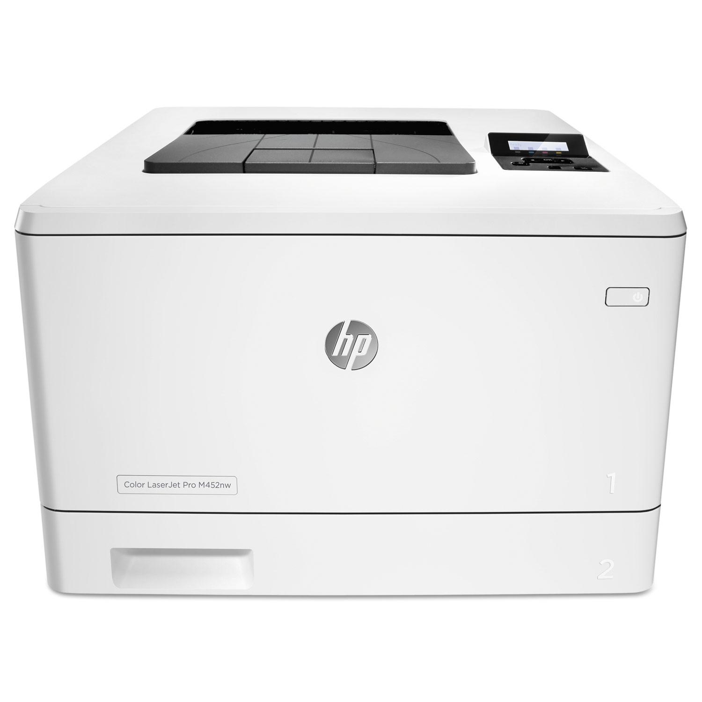 Color LaserJet Pro M452nw Wireless Laser Printer