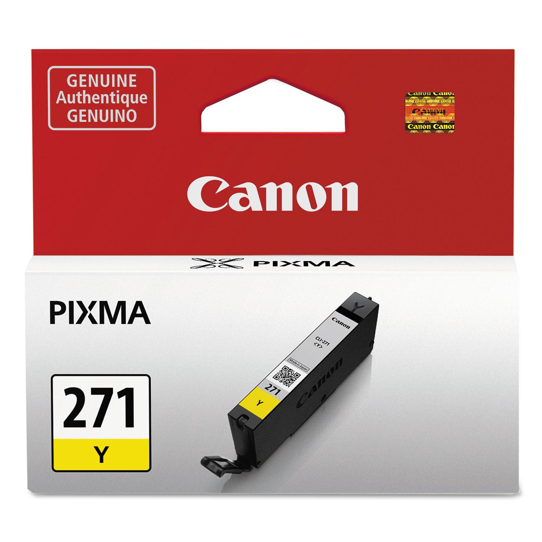 0393C001 (CLI-271) Ink, Yellow