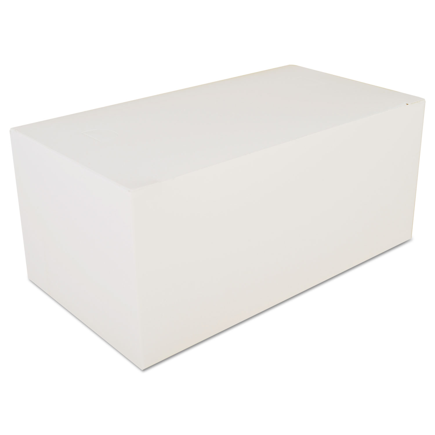 Carryout Tuck Top Boxes, White, 9 x 5 x 4, Paperboard, 250/Carton