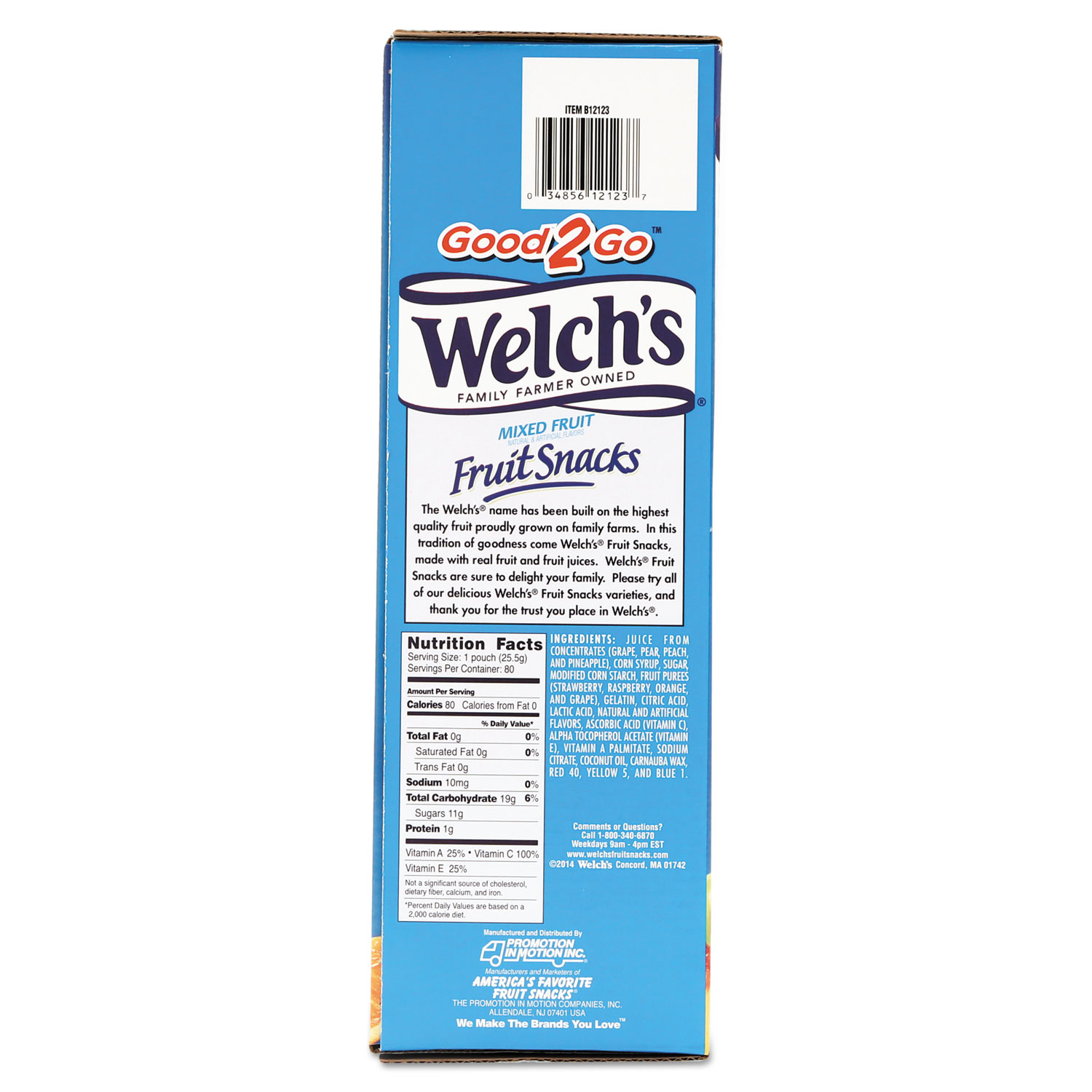 fruit snacks by welch's® wel884640 | ontimesupplies