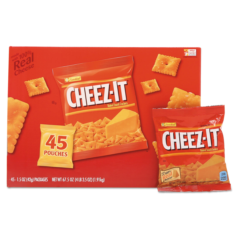 cheez it crackers by sunshine keb827553 ontimesupplies com