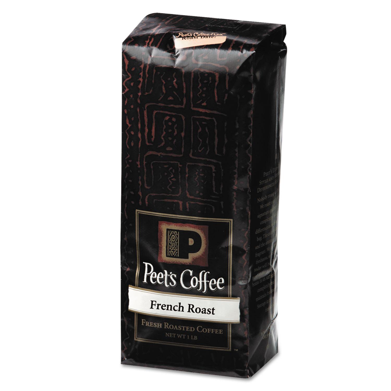 Bulk Coffee, French Roast, Ground, 1 lb Bag