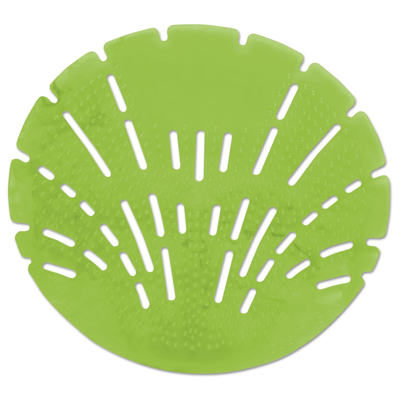 Pearl 3D Urinal Screen, Calypso Lime, Green, 10/Pack, 6 Pack/Carton