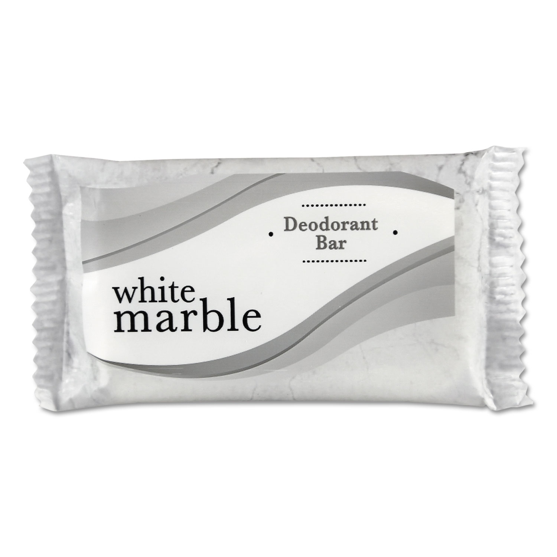 Individually Wrapped Deodorant Bar Soap, White, # 3/4 Bar, 1000/Carton