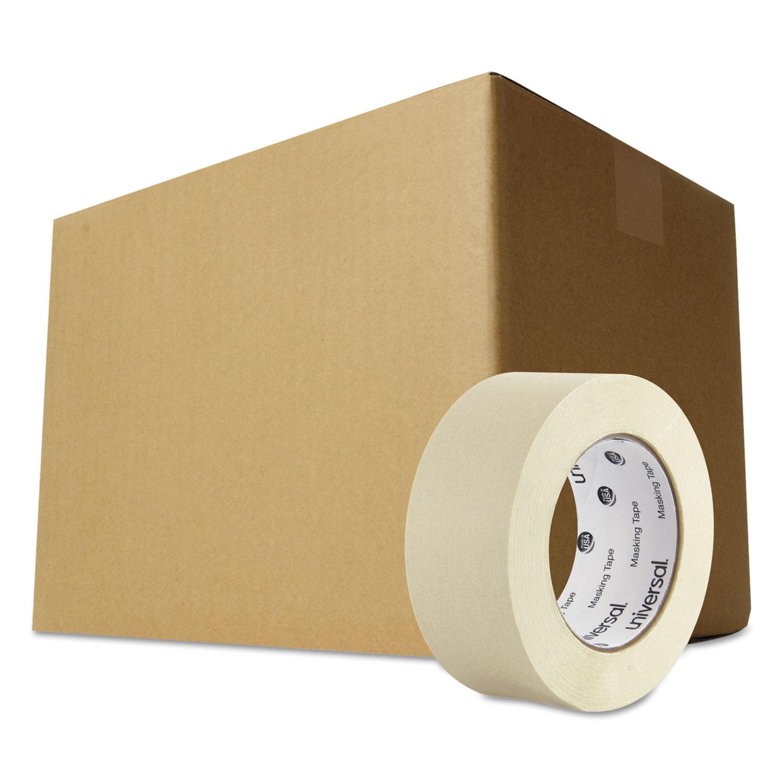 "General-Purpose Masking Tape, 3"" Core, 48 mm x 54.8 m, Beige, 24/Carton"