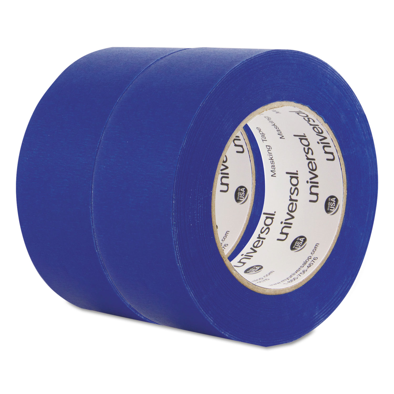 Premium Blue Masking Tape, 48mm X 54.8m, Blue, 2/Pack