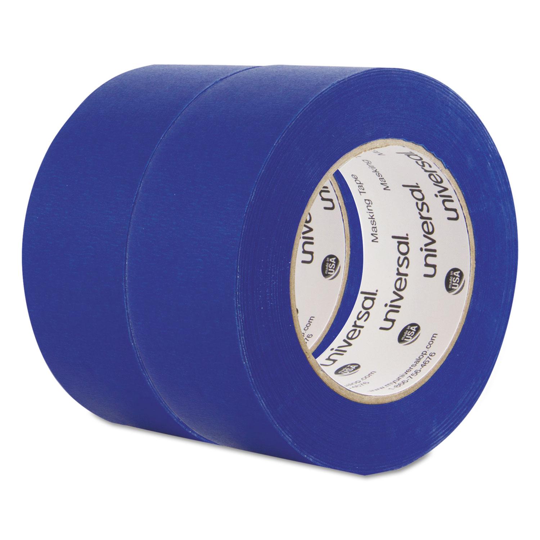 Premium Blue Masking Tape, 48mm X 54.8m, Blue, 2/Pack