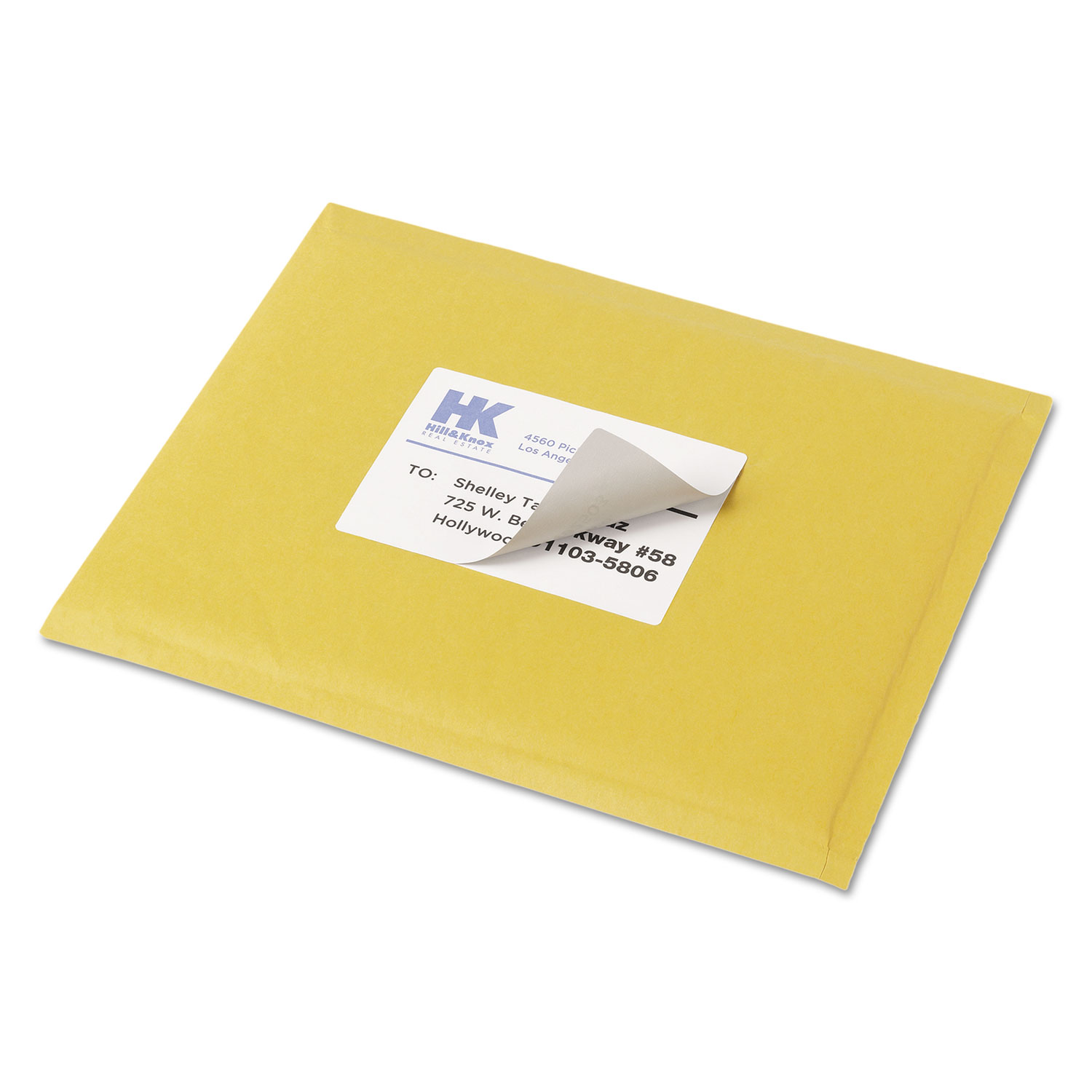 Shipping labels with trueblock technology by avery for Avery 5168 label template