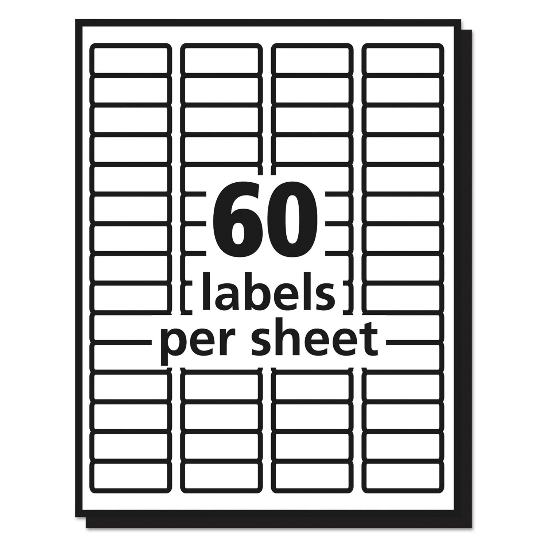 Matte Clear Easy Peel Return Address Labels By Avery Ave15695