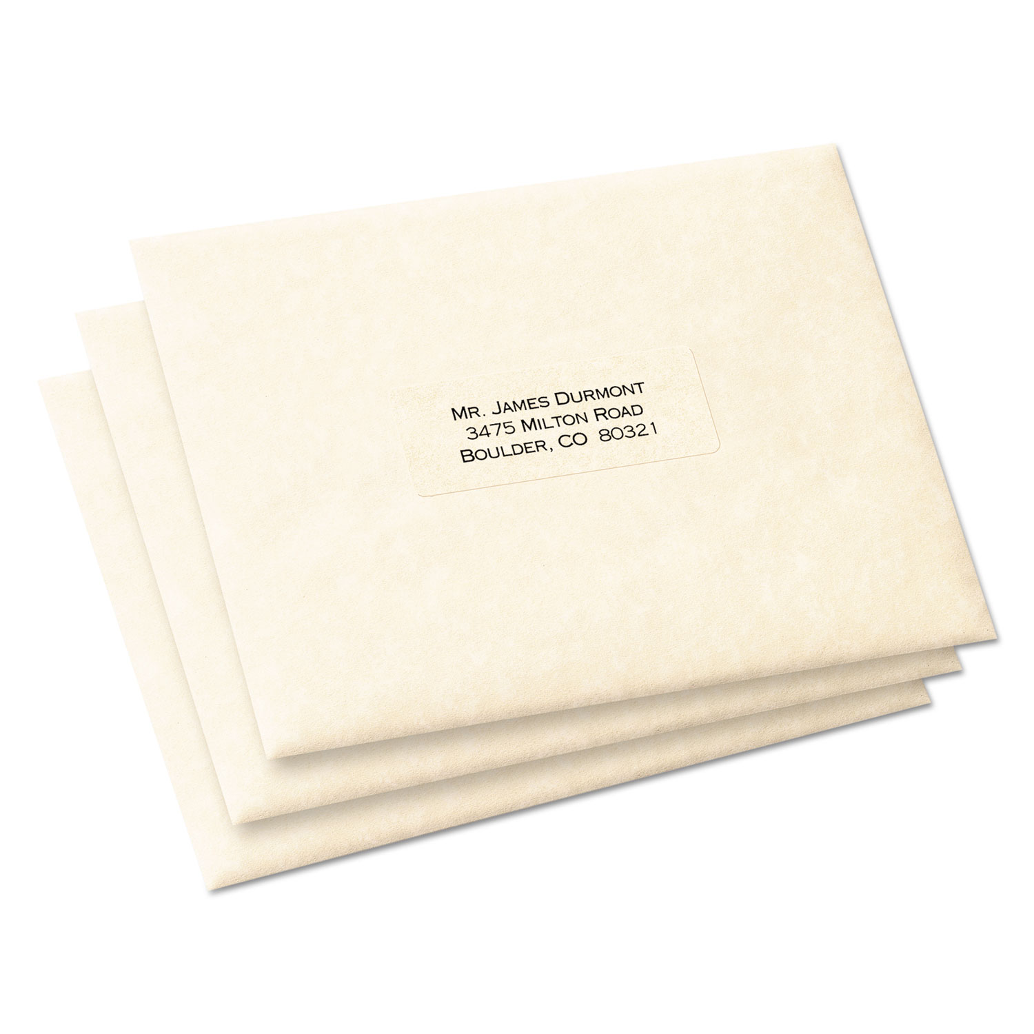 Matte Clear Easy Peel Address Labels By Avery Ave15660