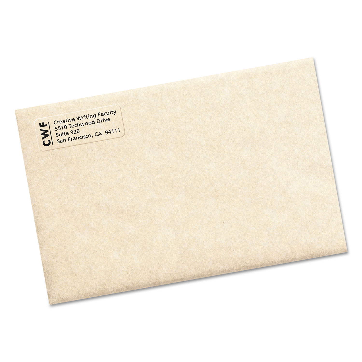 Matte Clear Easy Peel Return Address Labels By Avery Ave15695