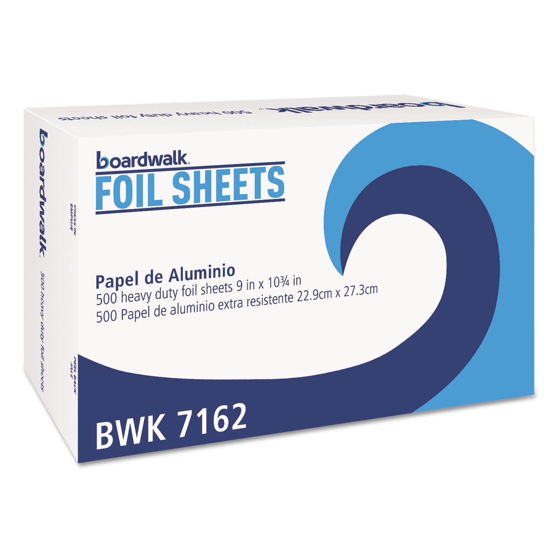"Standard Aluminum Foil Pop-Up Sheets, 9"" x 10 3/4"", 500/Box"