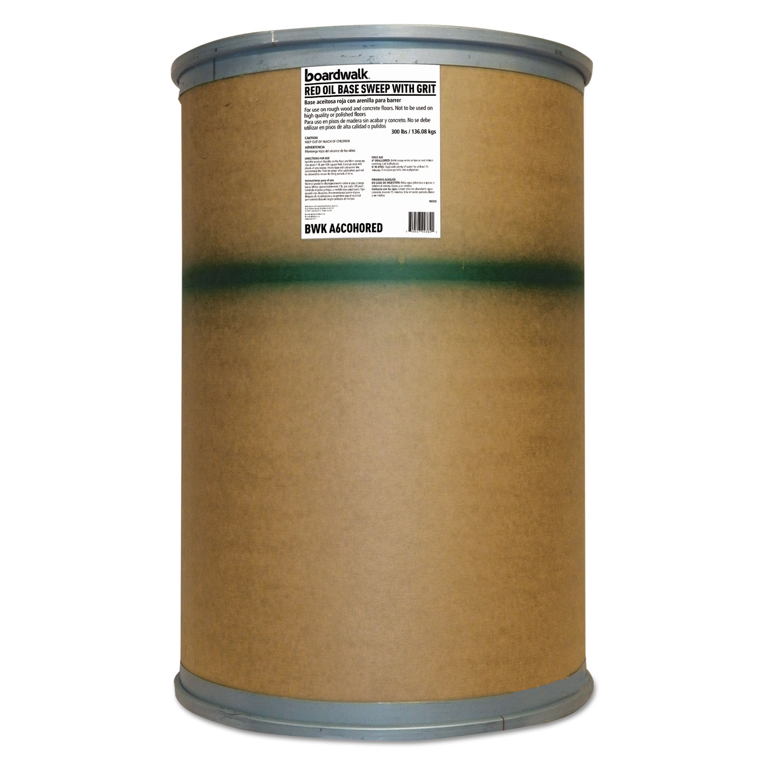 Oil-Based Sweeping Compound By Boardwalk® BWKA6COHORED