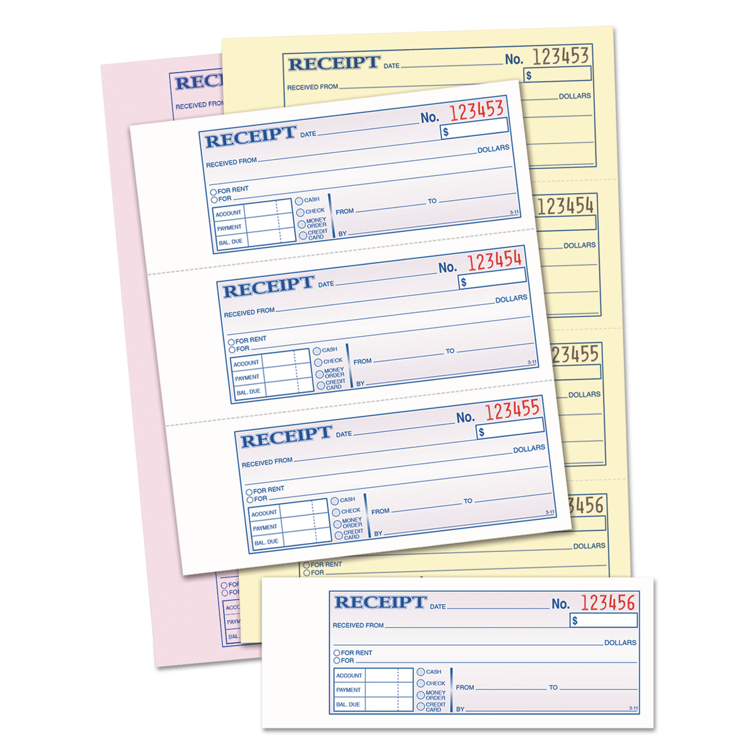 rent receipt copy bank loan proposal sample wanted signs template abftc1182 money rent receipt forms by adams business forms 251969 abftc1182 receipt book 7 5