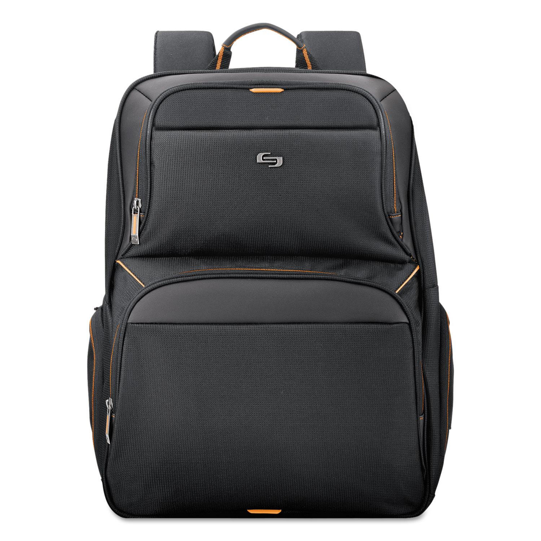 """Urban Backpack, 17.3"""", 12 1/2"""" x 8 1/2"""" x 18 1/2"""", Black"""