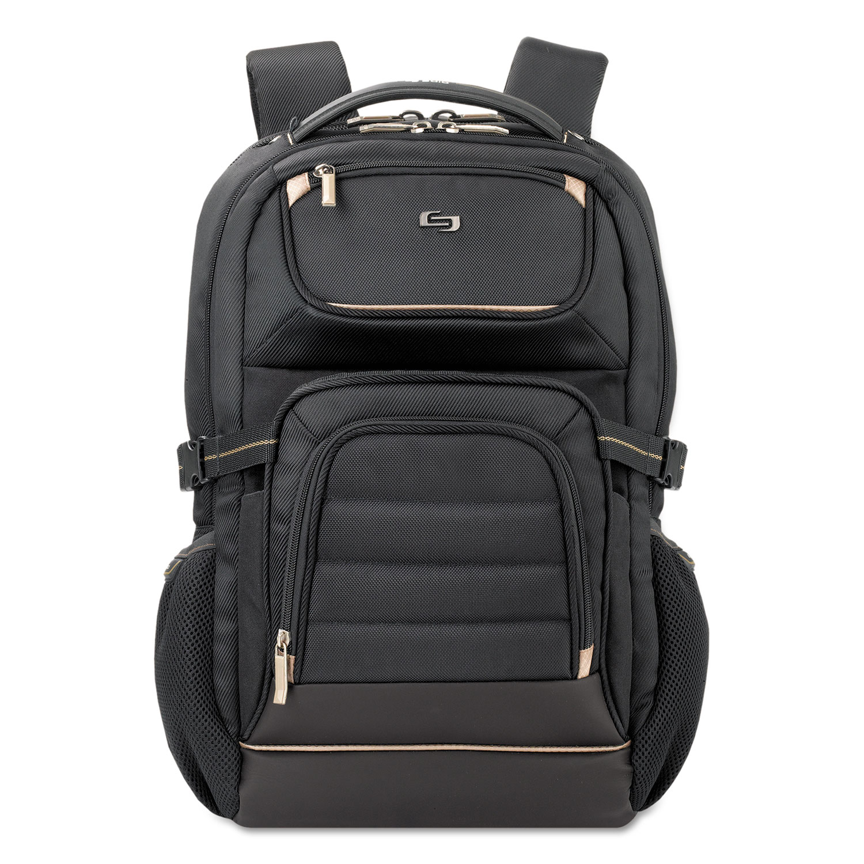 "Pro Backpack, 17.3"", 12 1/4"" x 6 3/4"" x 17 1/2"", Black"