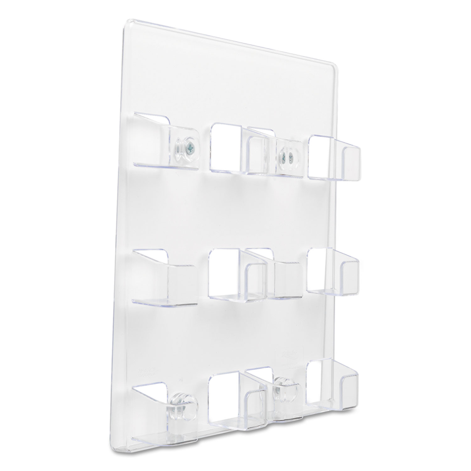 Six-Pocket Wall Mount Business Card Holder by deflecto® DEF70601 ...