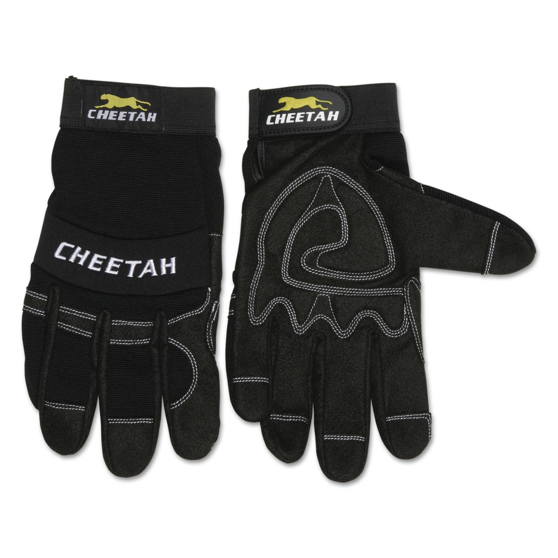 Cheetah 935CH Gloves, X-Large, Black