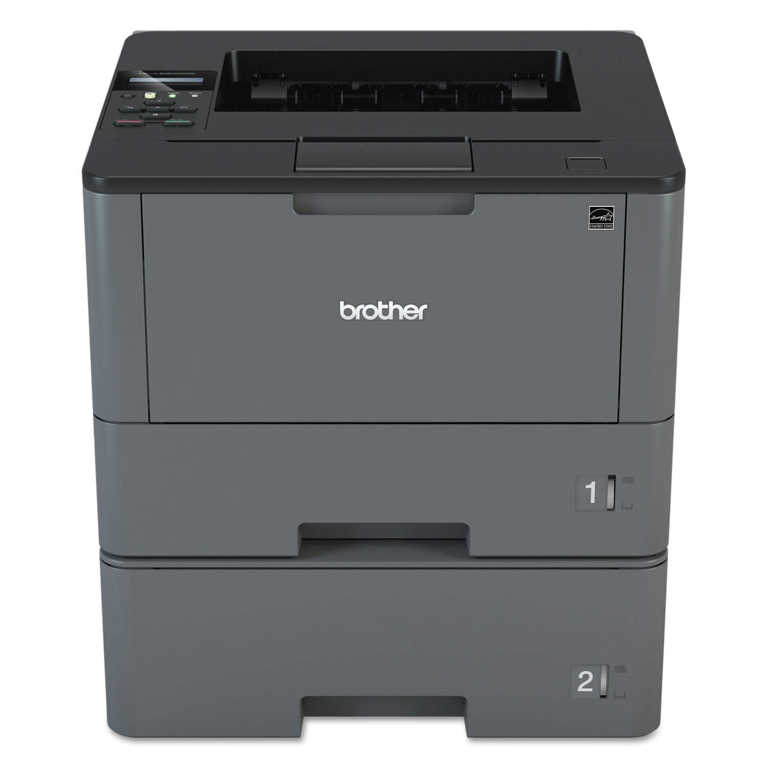 HL-L5200DWT Business Laser Printer With Wireless Networking, Duplex Printing