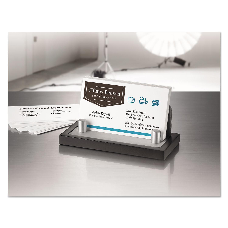 True print clean edge business cards by avery ave8870 true print clean edge business cards inkjet 2 x 3 12 white 1000box colourmoves