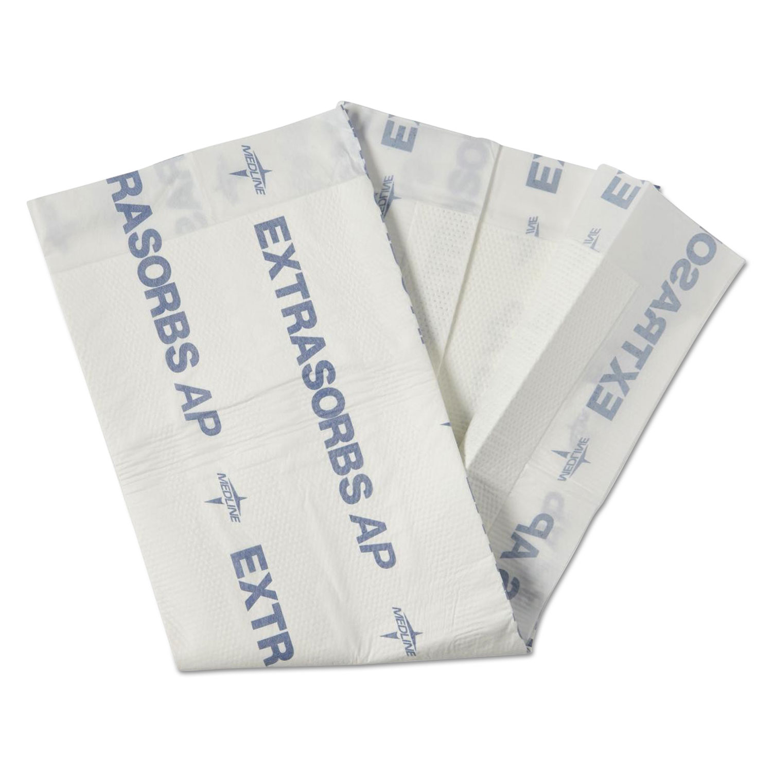 "Extrasorbs Air-Permeable Disposable DryPads, 30"" x 36"", White, 70/Carton"