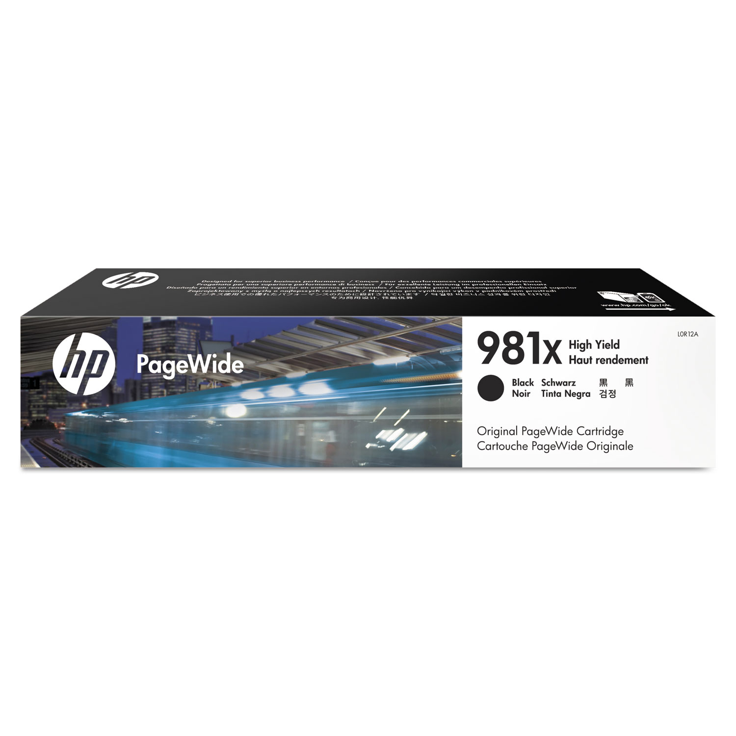 HP 981X L0R12A Black High-Yield Original Ink Cartridge