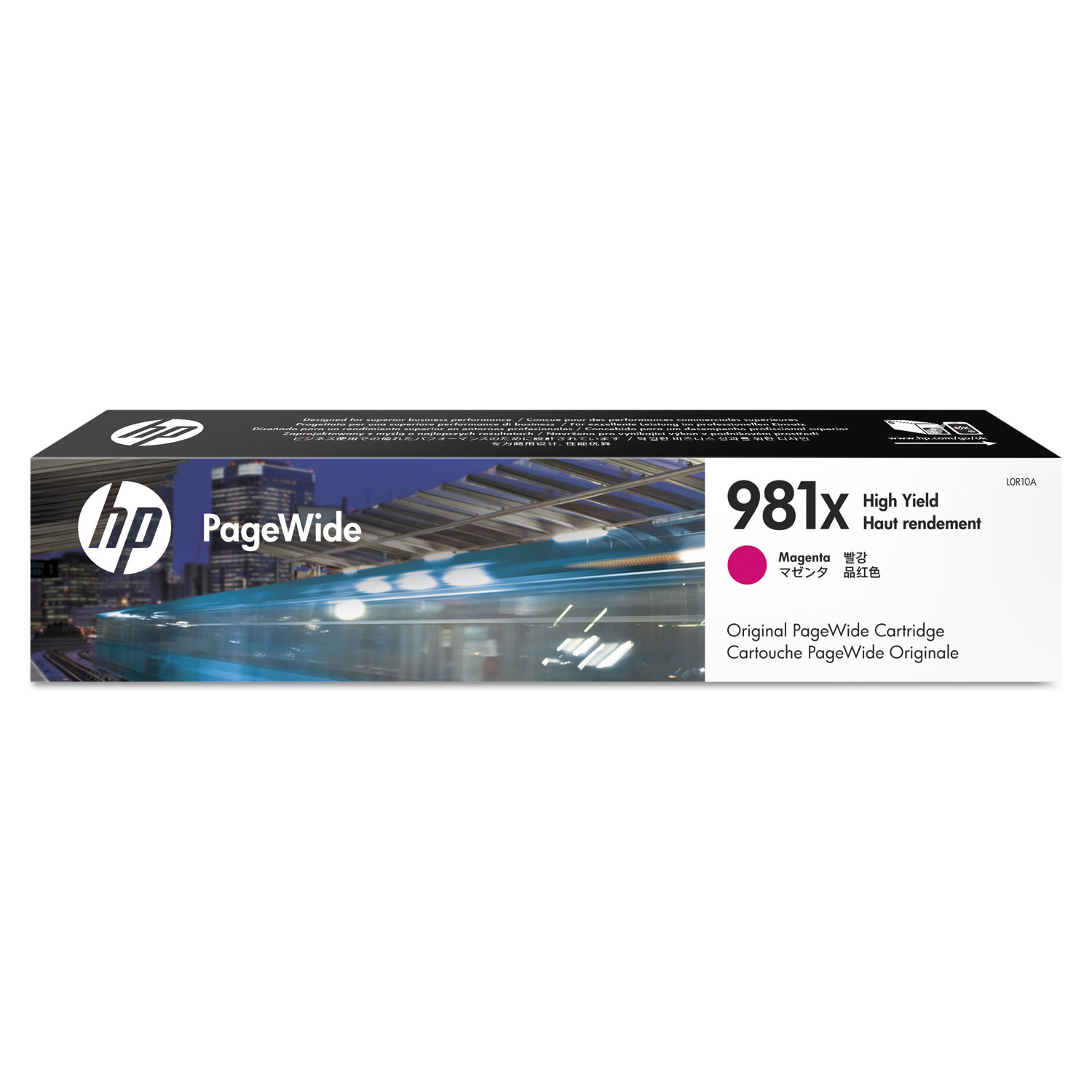 HP 981X L0R10A Magenta High-Yield Original Ink Cartridge