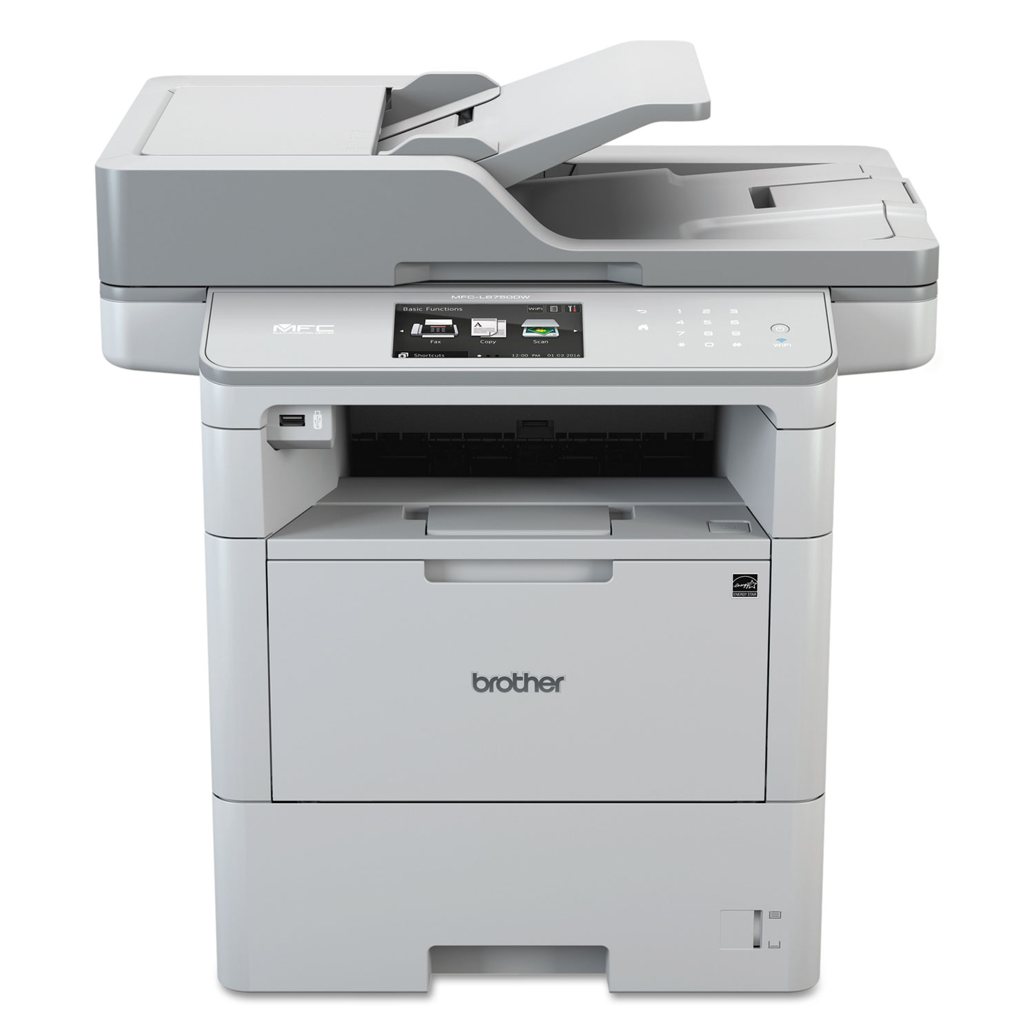 MFC-L6750DW Wireless Business Laser All-in-One Printer, Copy/Fax/Print/Scan
