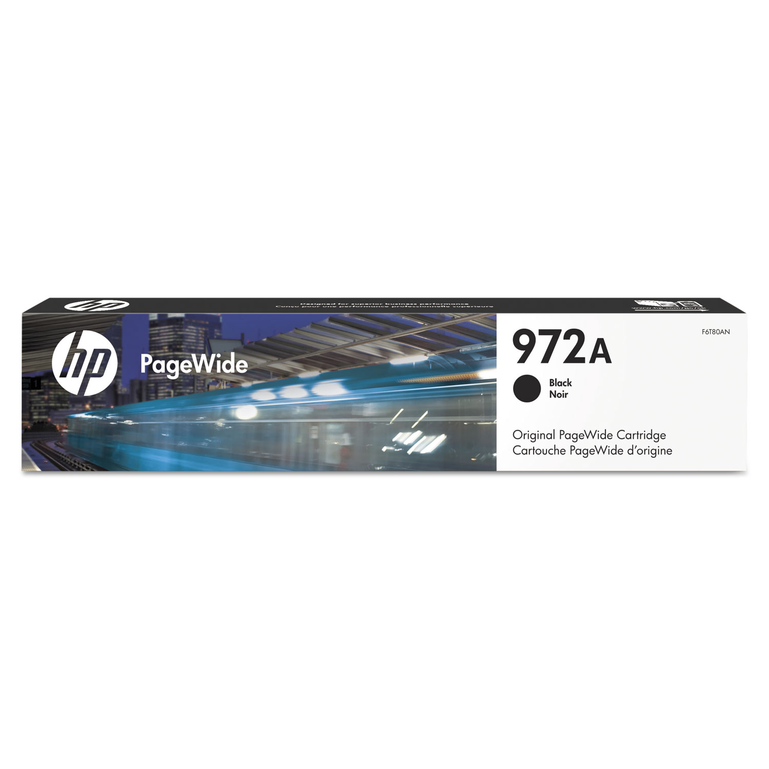 HP 972A F6T80AN Black Original Ink Cartridge