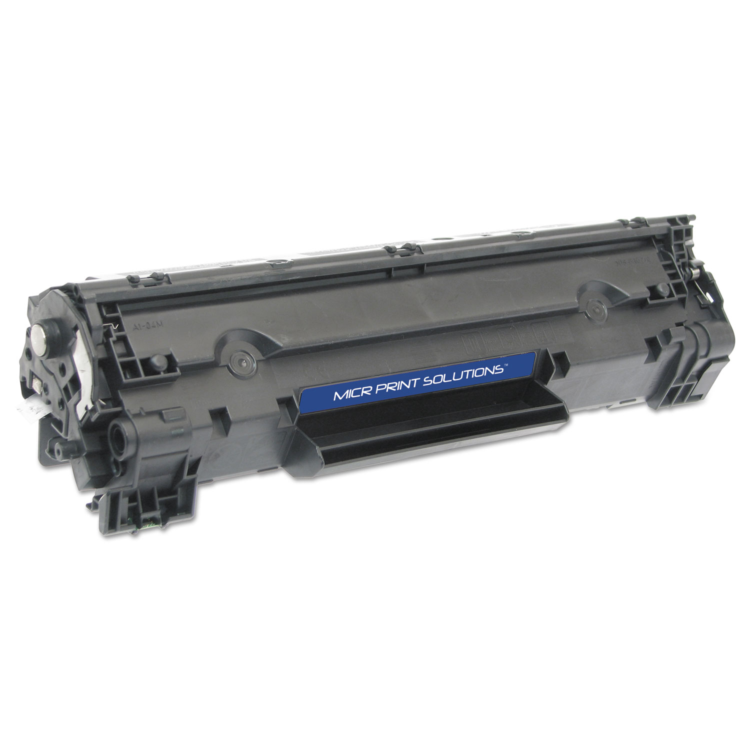 Compatible CF283X(M) (83X) High-Yield MICR Toner, Black