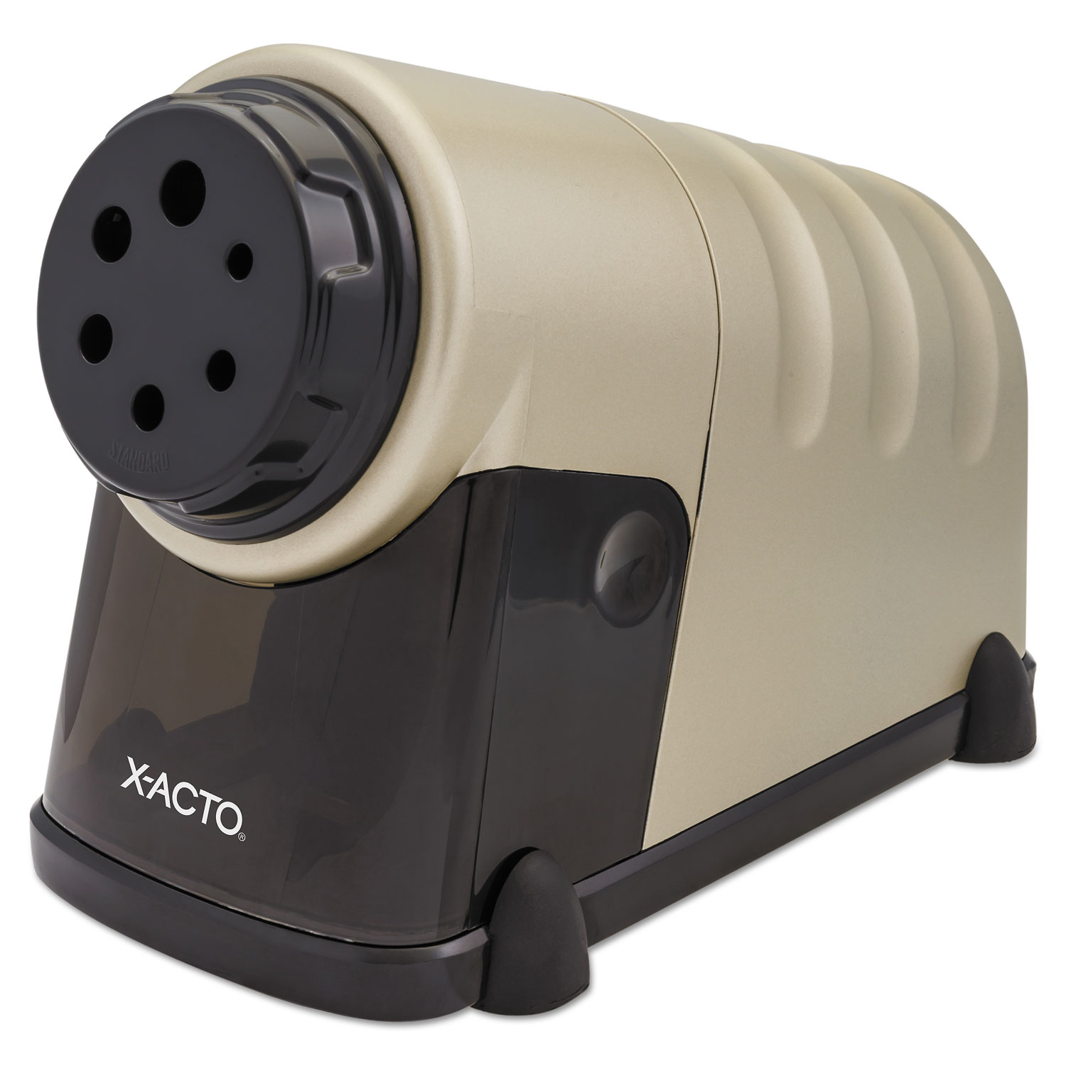 "Model 41 High-Volume Commercial Electric Pencil Sharpener, AC-Powered, 4"" x 8.75"" x 5.5"", Beige"